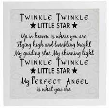 vinyl sticker fits 20 x 20cm twinkle twinkle little star up in vinyl sticker fits 20 x 20cm twinkle twinkle little star up in heaven quote ebay