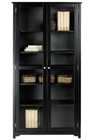 36 inch bookcase with doors oxford 36 w 6 shelf bookcase with glass doors bookcase