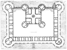 03 early renaissance chateaux plan of the château de chambord