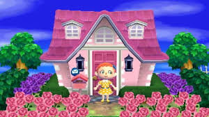Animal Crossing Home Design Games Animal Crossing New Leaf House Exterior Acnl Outside Pinterest