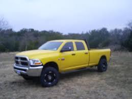 Dodge Ram Yellow - 2012 custom