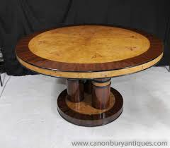 round art deco dining table round designs