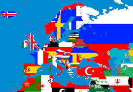 Simple Map Of Europe by Image Map Of Europe In Flags Slide 1 Png Thefutureofeuropes
