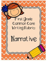 first grade narrative writing rubric by first grade friendzy tpt