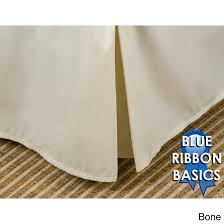 blue ribbon collection 15 18 or 21 inch drop bedskirt queen 18