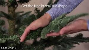 how to assemble your nobilis fir tree