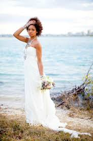 relaxed wedding dress strapless empire pleated chiffon wedding dress
