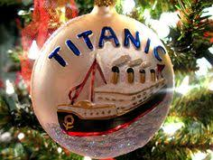 make sure you this titanic glass ornament on your tree