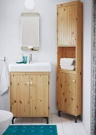 bathroom cabinets ikea striking natural pine that pops corner