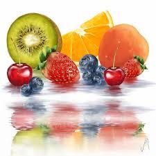 fruit fresh fresh fruits painting by minozzi