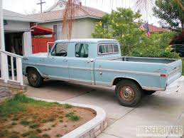 Vintage Ford Truck Commercials - 1970 ford f 250 crew cab low budget high value diesel power