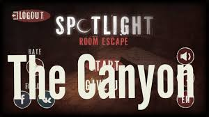 spotlight room escape the canyon full walkthrough youtube