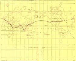 Maps Around The World by File Around The World In Eighty Days Map Jpg Wikimedia Commons