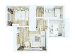 chambre f1 le plan appartement d un studio 50 idées originales