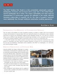 commercial risk model builders risk risk risk management