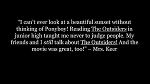 the author of the outsiders writes professionally under the name