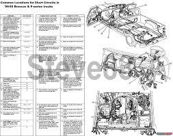 1983 ford bronco tsbs u0026 fsas recalls for u002783 96 broncos u0026 f150s