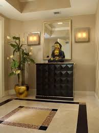 decorate with buddha statues and representations