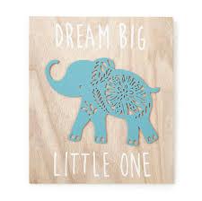 Elephant Wall Decals For Nursery by Levtex Baby Zahara Wooden Elephant Wall Art Toys
