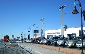 solar panel parking lot lights solar parking lot lighting solar powered led lights greenshine new