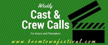 Seeking Cast And Crew Boomtown Festival 2018 Weekly Cast And Crew Calls