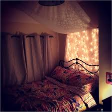 stunning fairy lights in bedroom contemporary decorating house