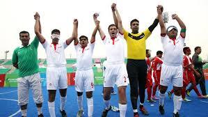 Paralympics Blind Football Presstv Iran Para Footballers Runner Up In Brazil