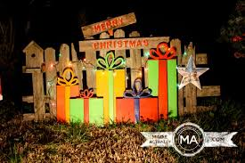 wood yard decorations decorations inside