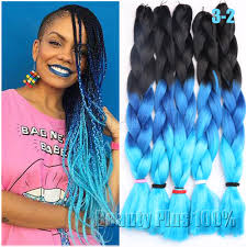 Hairstyles With Jumbo Braiding Hair Aliexpress Com Buy 3 Tone Ombre Colors Braiding Hair 24