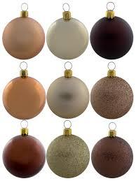 metallic matt glittered chocolate copper gold baubles 12 x