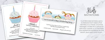 children u0027s invitations children u0027s birthday party invitations