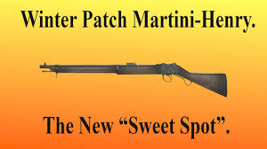 martini winter winter patch martini henry review the new sweet spot within a