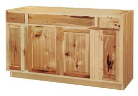 kitchen sink base cabinet menards value choice 60 thunder bay hickory standard 4 door sink