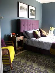 awesome yellow and purple bedroom simple ideas home decoration