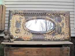 antique tin ceiling tile mirror about ceiling tile