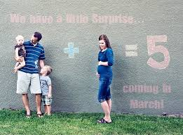 baby announcement easy and inexpensive pregnancy announcement ideas