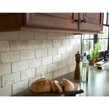 tumbled marble subway tile backsplash subway tile ideas for the