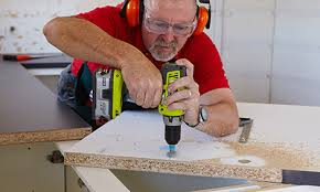 Bench Drill Bunnings How To Install A Laminate Benchtop Bunnings Warehouse