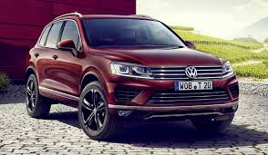 volkswagen special editions uautoknow net euro vw touareg suv to get special executive edition