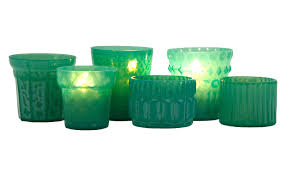 turquoise tealight holders jayson home