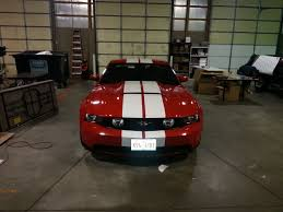 Black Mustang With Red Stripes Matte Black Black Or White Stripes The Mustang Source Ford