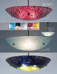 bowl pendant lighting clearance light bowl hand carved textured glass pendant chandelier artisan