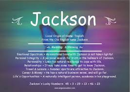 Lightly Definition Jackson Definition Of Name My Boys Pinterest