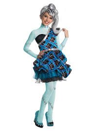 kids frankie stein monster high costume sweet 1600 escapade uk