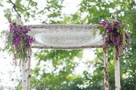 bamboo chuppah knit wedding chuppah purple flowers bamboo chuppah our