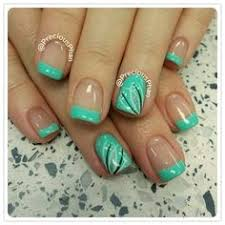 st louis blues color nail design gold blue tipped my nail