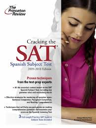 cracking the sat spanish by the princeton review excerpt sat