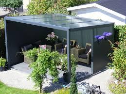 Patio Tent Gazebo by Aluminium Garden Veranda Canopy 5m Deep
