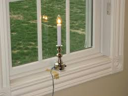 electric window candles home depot electric window candles