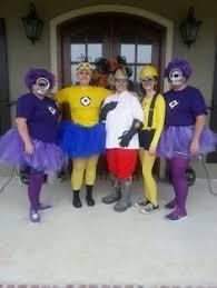 Despicable Minions Halloween Costume Diy Purple Minion Costumes Babesinhairland Halloween
